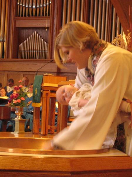 Zora's baptism
